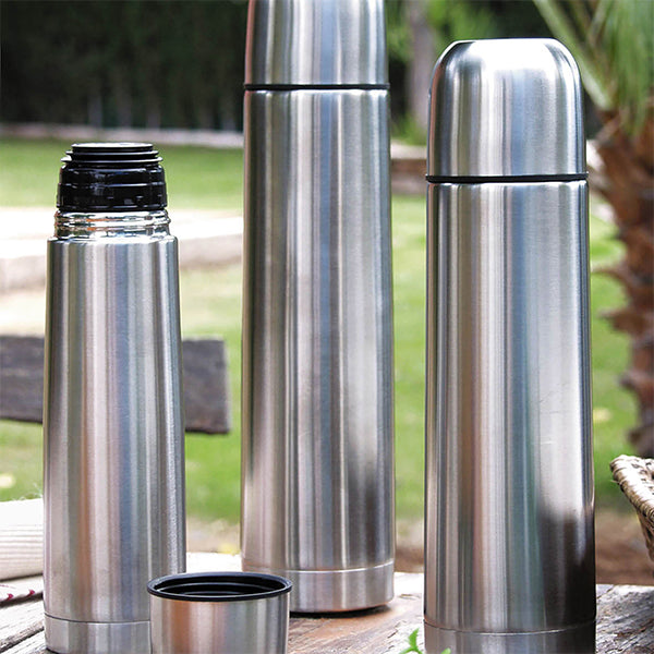 Travel thermos flask Quid Stainless steel 0,35 L