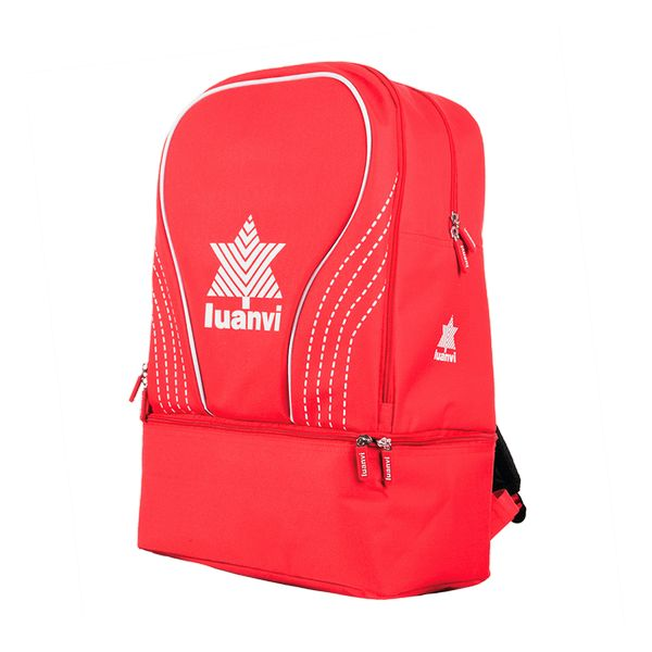 Sports Bag with Shoe holder Luanvi Rin Red 31 L