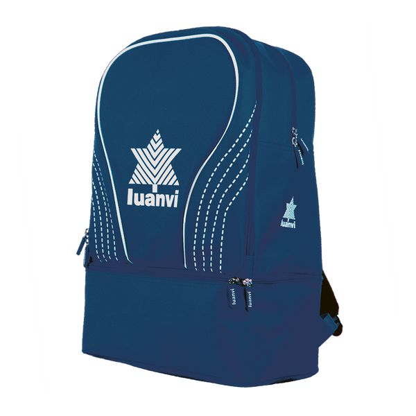 Sports Bag with Shoe holder Luanvi Rin Navy 31 L