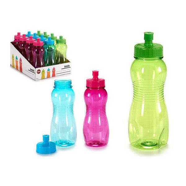 Water bottle (7 x 20,5 x 7 cm) 550 ml