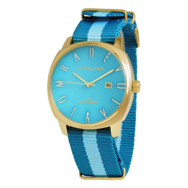 Men's Watch Devota & Lomba DL008MSPBLBL-02BLUE (42 mm)