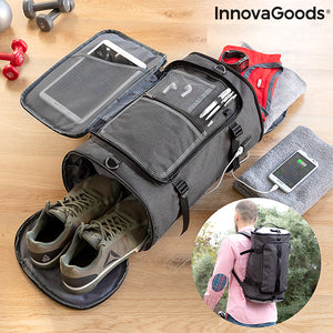 Padlocked Anti-Theft Sports Backpack Dofeel InnovaGoods