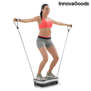 Vibration Training Plate with Accessories and Exercise Guide Vybeform InnovaGoods