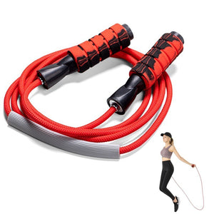 Crossfit 2.8m Speed Rope with Anti-Slip Handle - TestYourWill