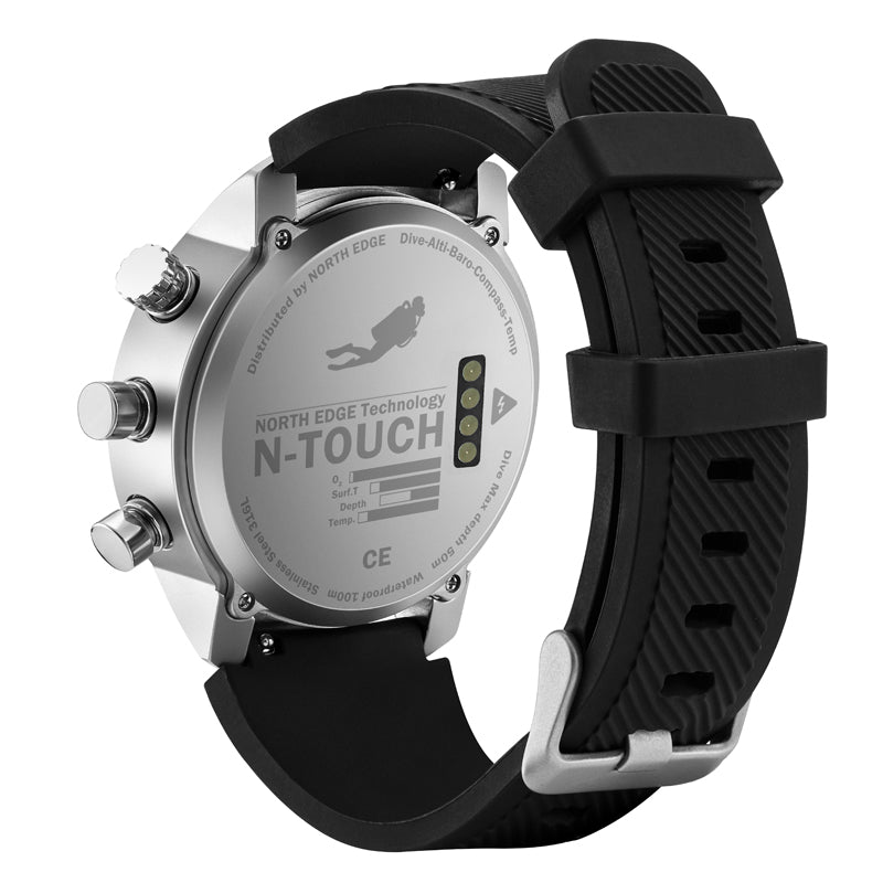 NORTH EDGE N-TOUCH DIVER WATCH - TestYourWill