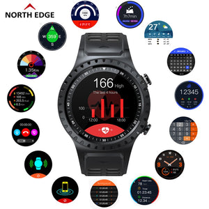 NORTH EDGE Cross Fit smart watch - TestYourWill