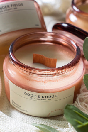 Cookie Dough Cocosoy Scented Candle 300ML | Breathe Essentials Co