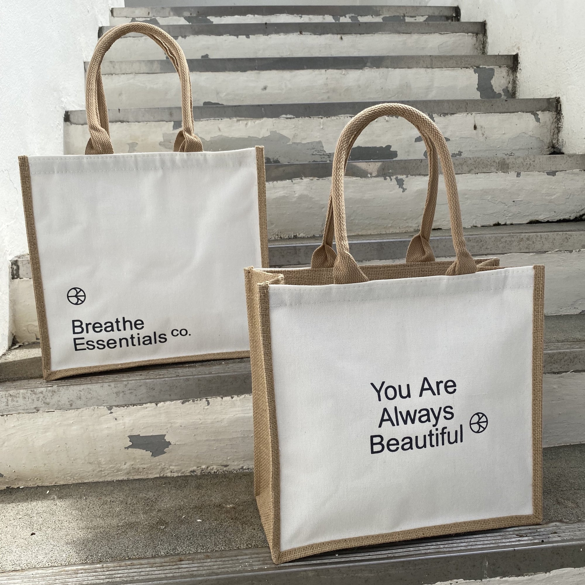Shopping Bag for Groceries | Breathe Essentials Co