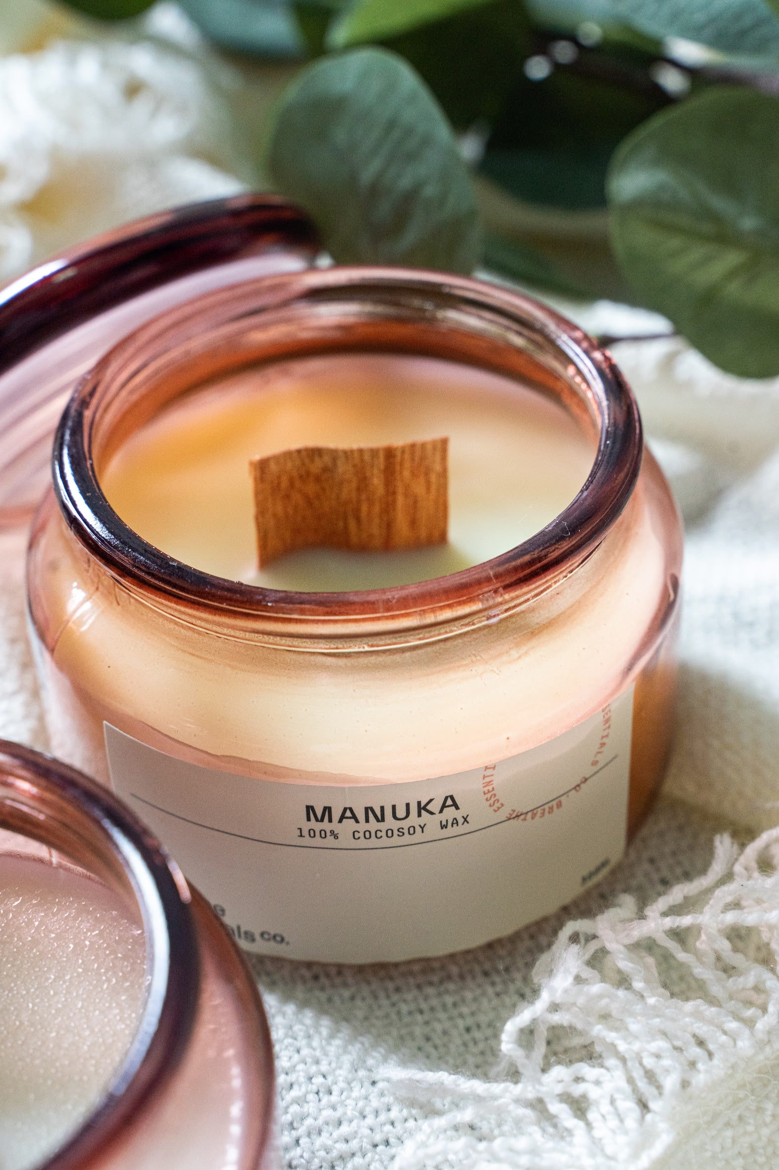 Manuka Cocosoy Scented Candle | Breathe Essentials Co