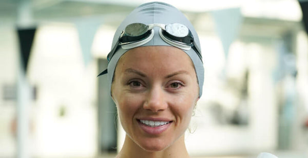 Use a swim cap is to reduce exposure to chlorinated water