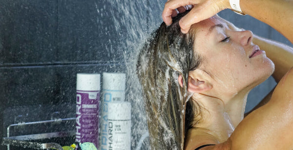 Use a swimmers shampoo to remove and neutralize all chlorine on your hair