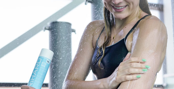 Use an after swim body wash to provide a deep cleansing of your skin