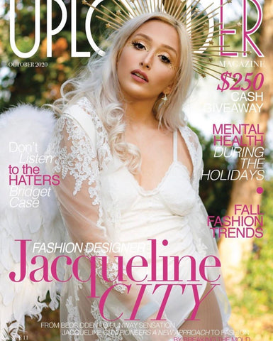 Uploader Magazine Cover with Jacqueline City