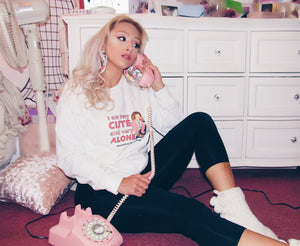 Cute & Alone Crewneck Sweatshirt