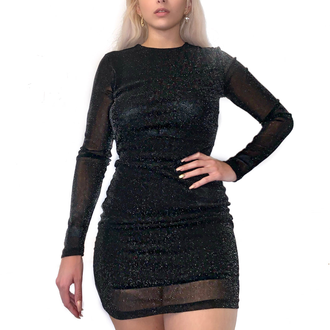 Black Night Sky Dress