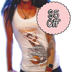Mermaids Welcome Tank Top
