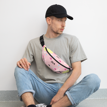 Load image into Gallery viewer, Pink 80s Print Fanny Pack