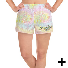 Load image into Gallery viewer, Tie-dye Women's Athletic Shorts