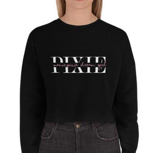 Ramona's Black Cropped Crewneck
