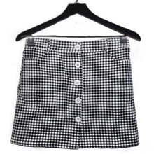 Load image into Gallery viewer, Margo Roth Gingham Skirt