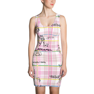 "Pink ""Pretty in Plaid"" Dress"