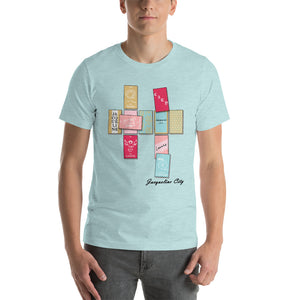 Card Spread Short-Sleeve Unisex T-Shirt
