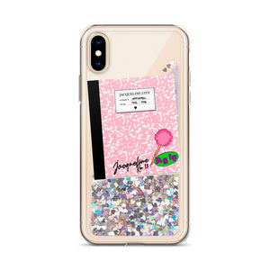 As If! Glitter Phone Case