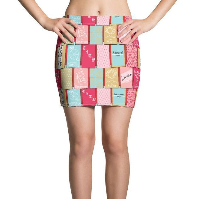 In the Cards Mini Skirt
