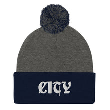 Load image into Gallery viewer, CITY Pom-Pom Beanie