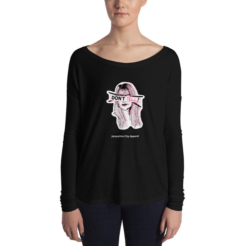 Don't Tell Sue Ellen Long Sleeve Tee