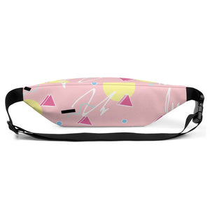 Pink 80s Print Fanny Pack
