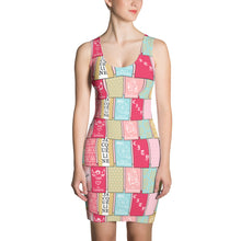 Load image into Gallery viewer, In The Cards Bodycon Dress