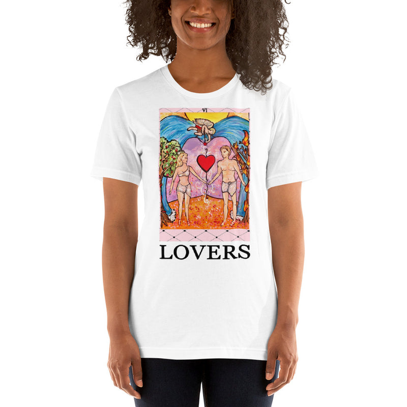 LOVERS Card Unisex T-Shirt