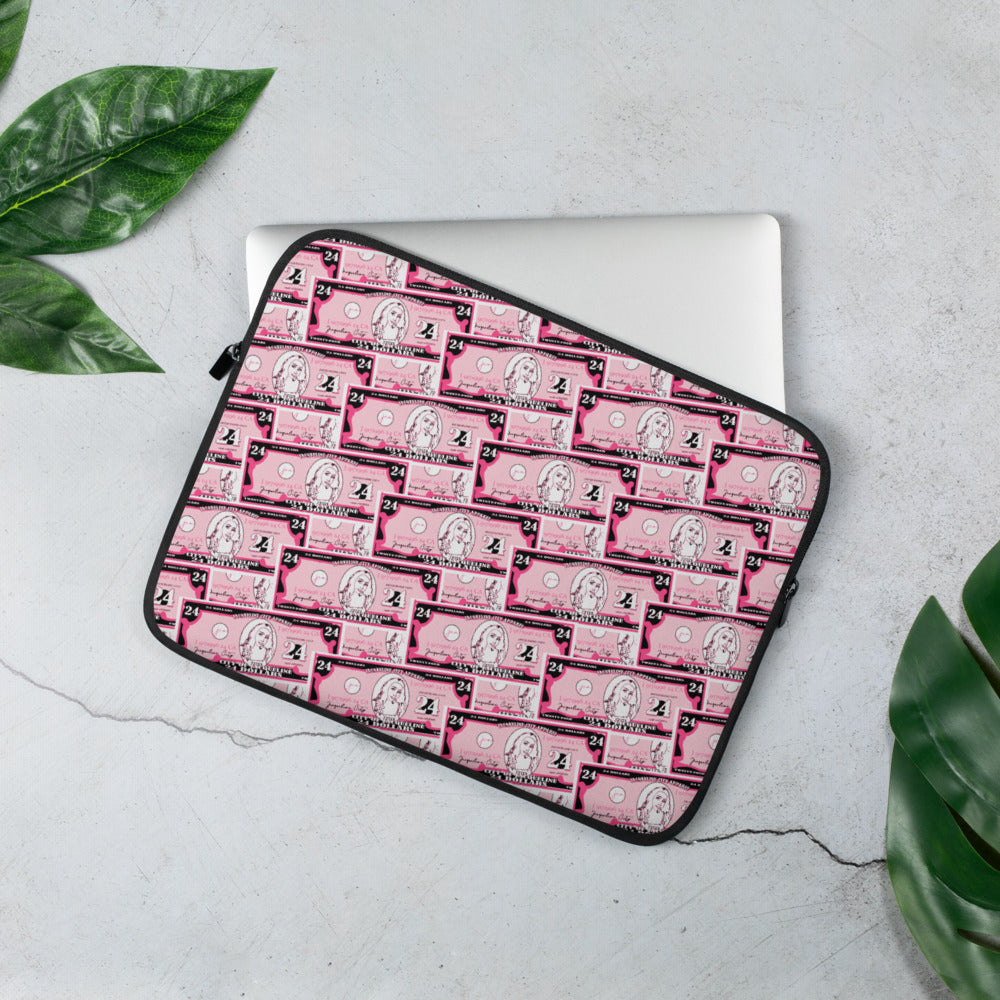 Dollar Signs Laptop Sleeve