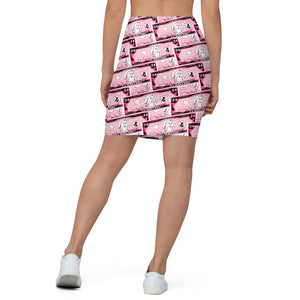 Dollar Signs Pencil Skirt (CO-ORD)