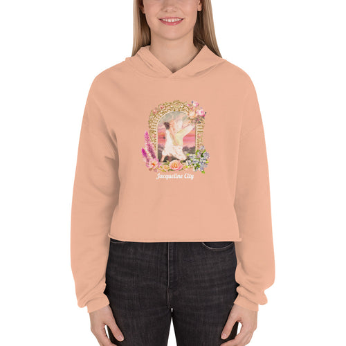 Painting Cropped Sweatshirt