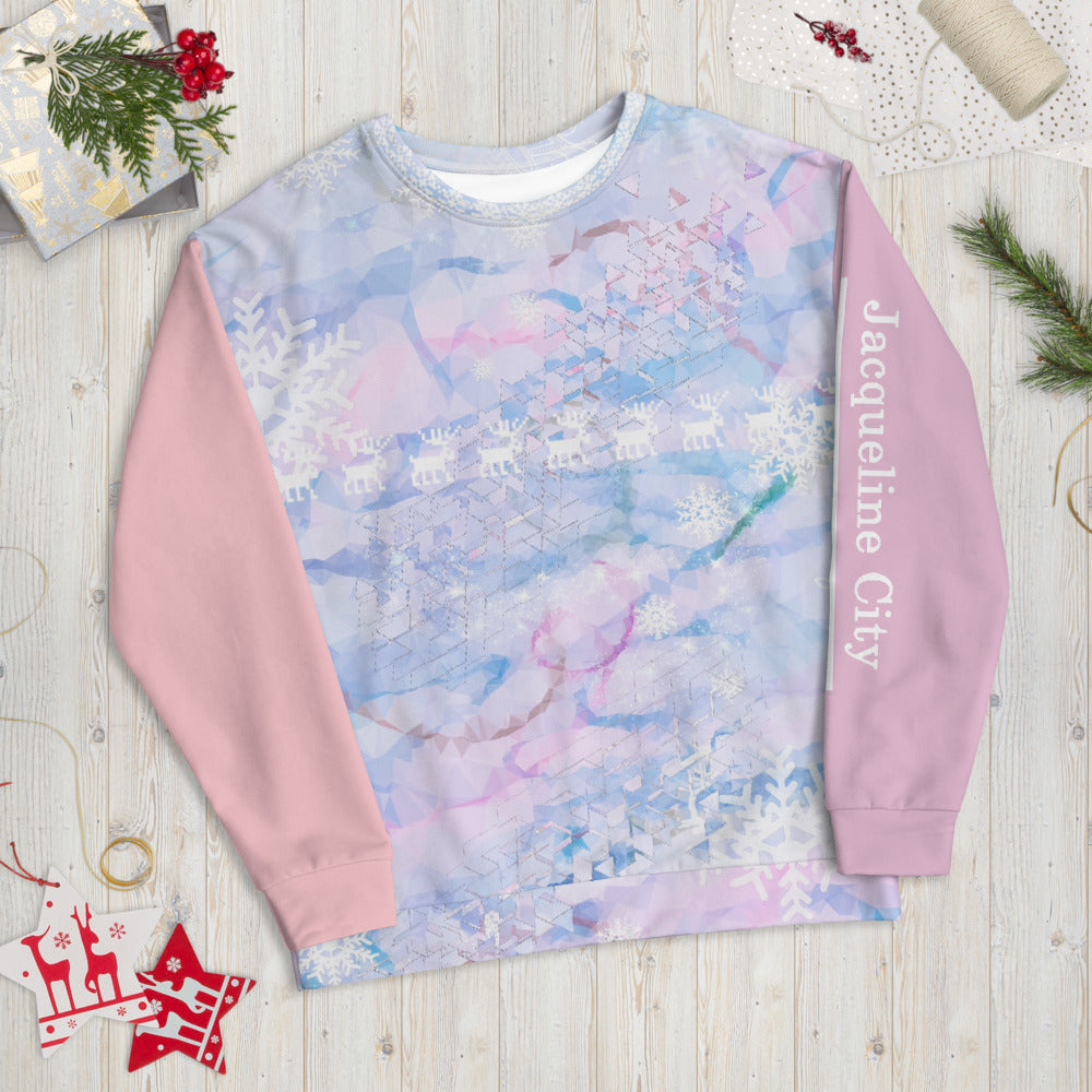 Ugly Christmas Sweater in SNOW QUEEN