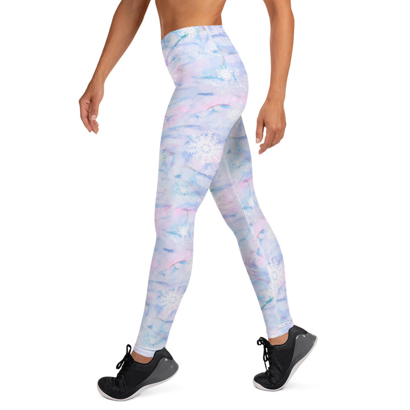 Yoga Leggings in SNOW QUEEN