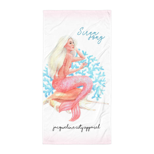 Siren Song Beach Towel
