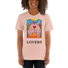 Load image into Gallery viewer, LOVERS Card Unisex T-Shirt