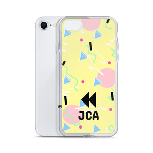 Rewind Yellow iPhone Case