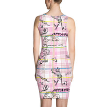 "Load image into Gallery viewer, Pink ""Pretty in Plaid"" Dress"