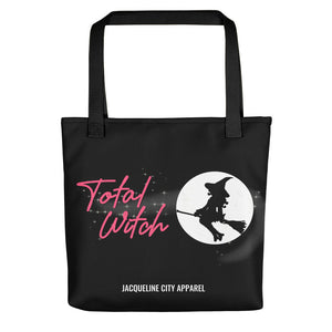"""Total Witch"" Black Tote Bag"