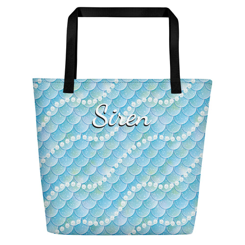 Siren Scales Beach Bag