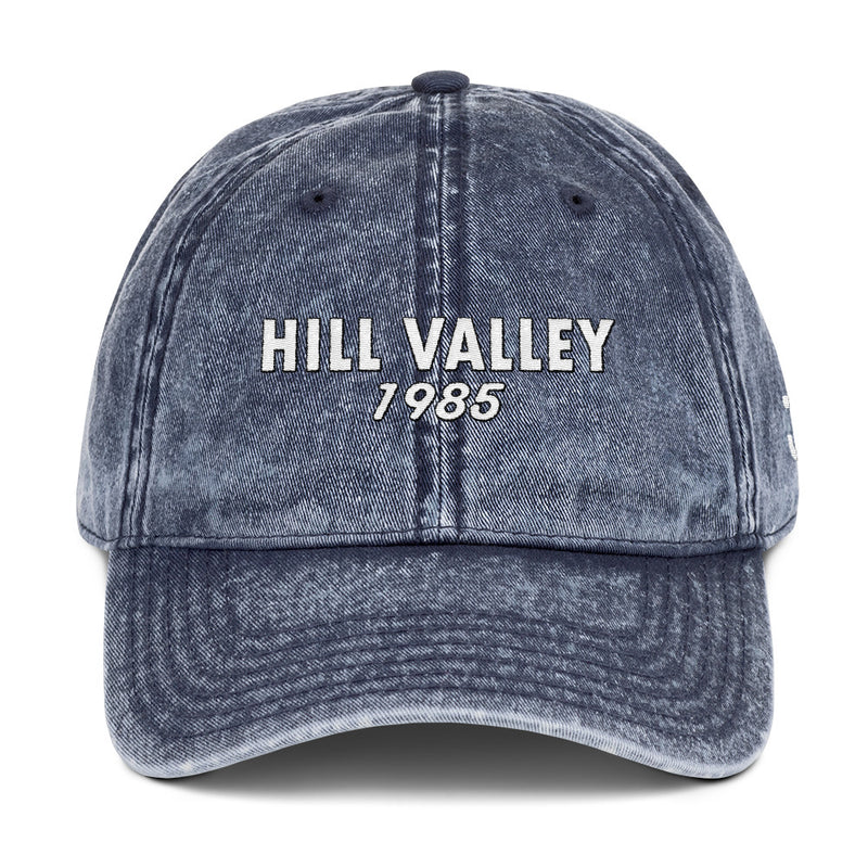 Back to 1985 Distressed Cap