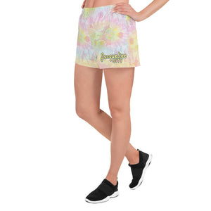 Tie-dye Women's Athletic Shorts