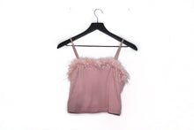 Load image into Gallery viewer, Baby Debora Faux-Fur Crop Top