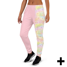 Load image into Gallery viewer, Pink Tie-dye Women's Joggers