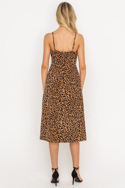 Alyssa Leopard Print Dress - Elizabeth's Boutique