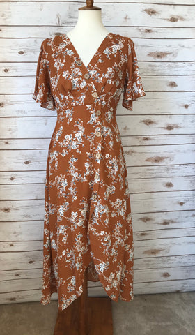 Sydney Floral Dress - Elizabeth's Boutique